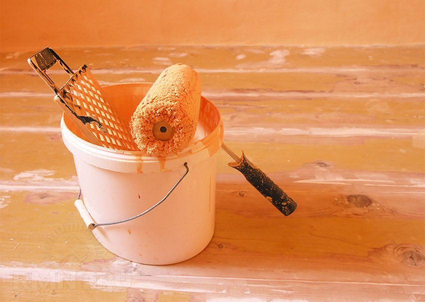 Как подобрать краску и покрасить стены