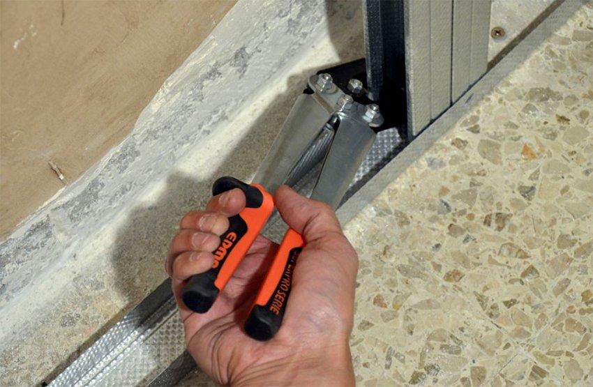 Как сделать каркас из профилей для стен из гипсокартона