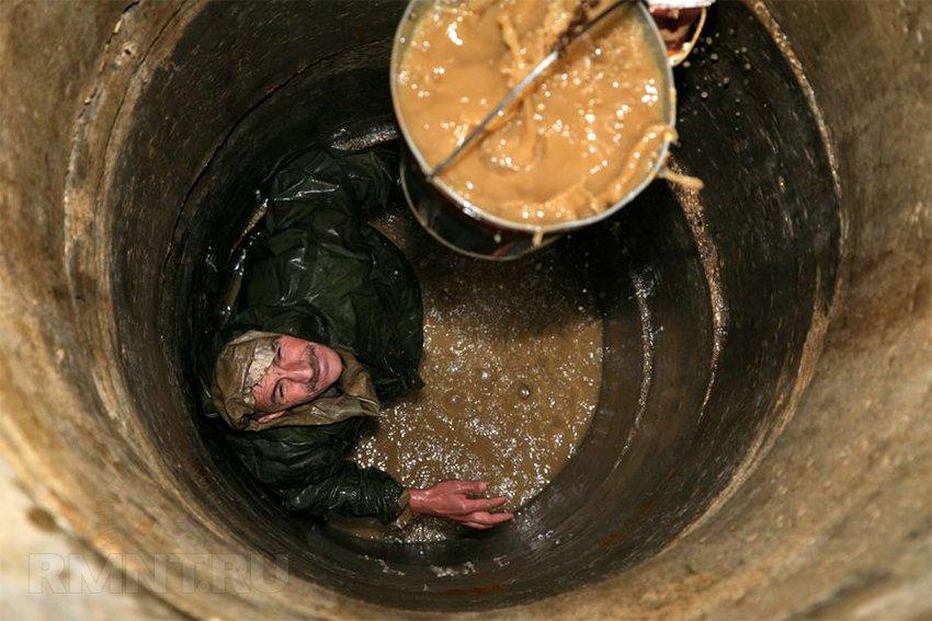 Колодец на даче своими руками как очистить от грязной воды