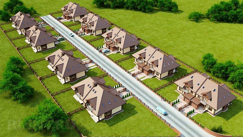 Нормы и правила расположения жилых строений и хозяйственных построек на участках
