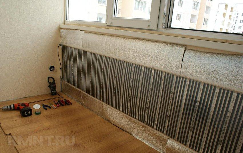 ИК-отопление. Инфракрасные пленочные нагреватели