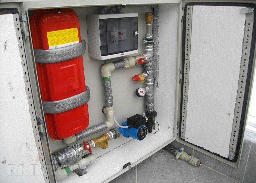 Газовое оборудование для отопления дома