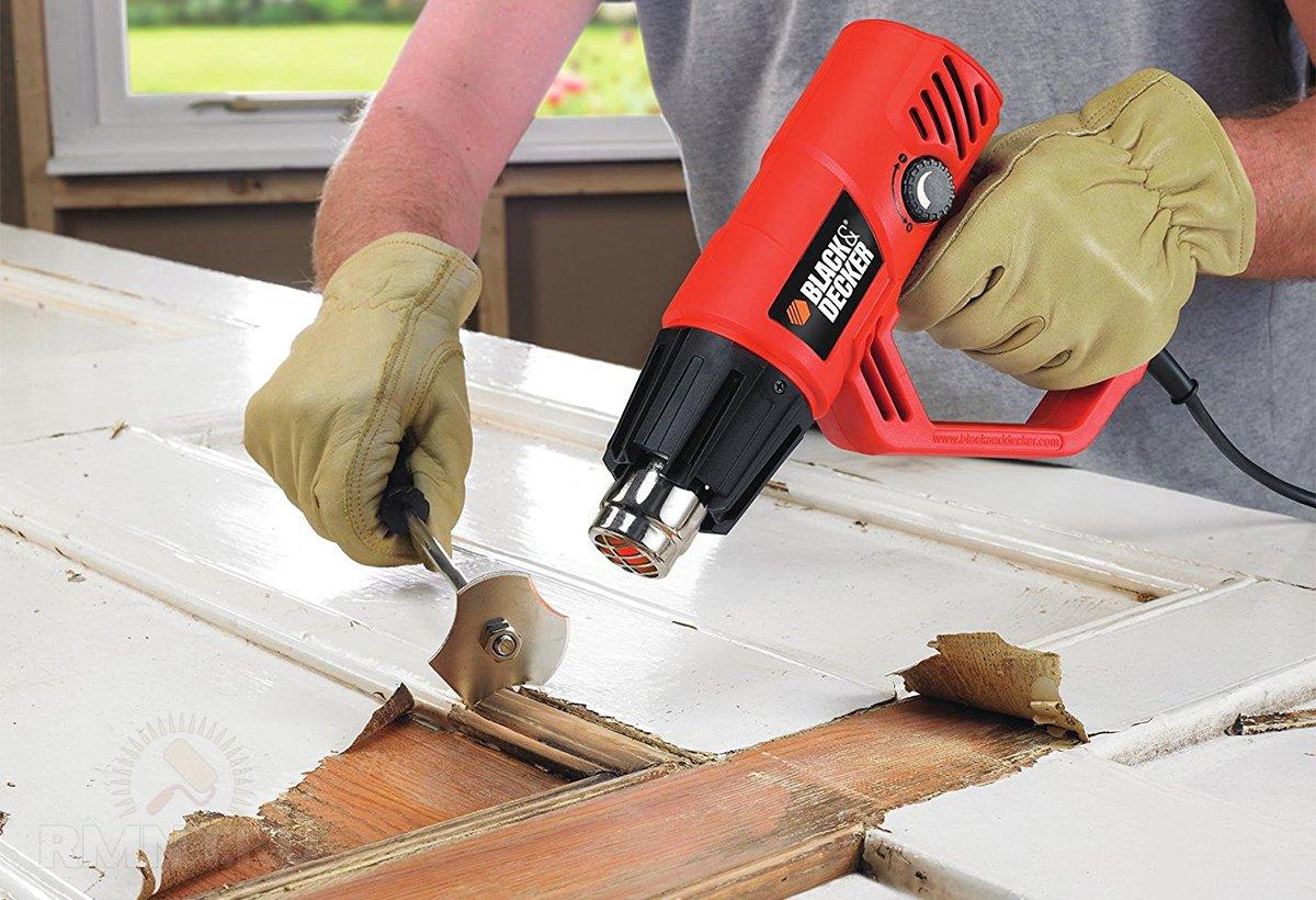 Как выбрать строительный фен: советы профессионала