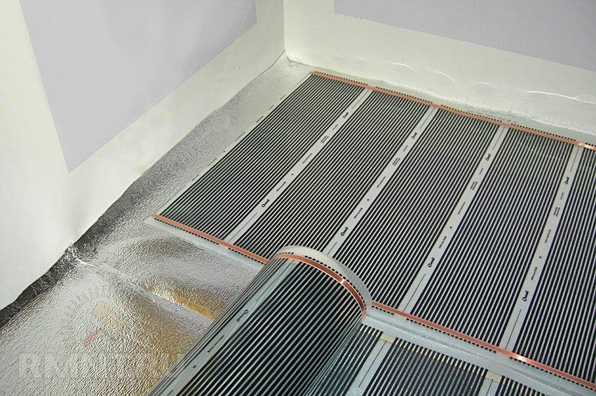 Мастика теплый пол в ванной гидроизоляция водоемов из жидкой резины