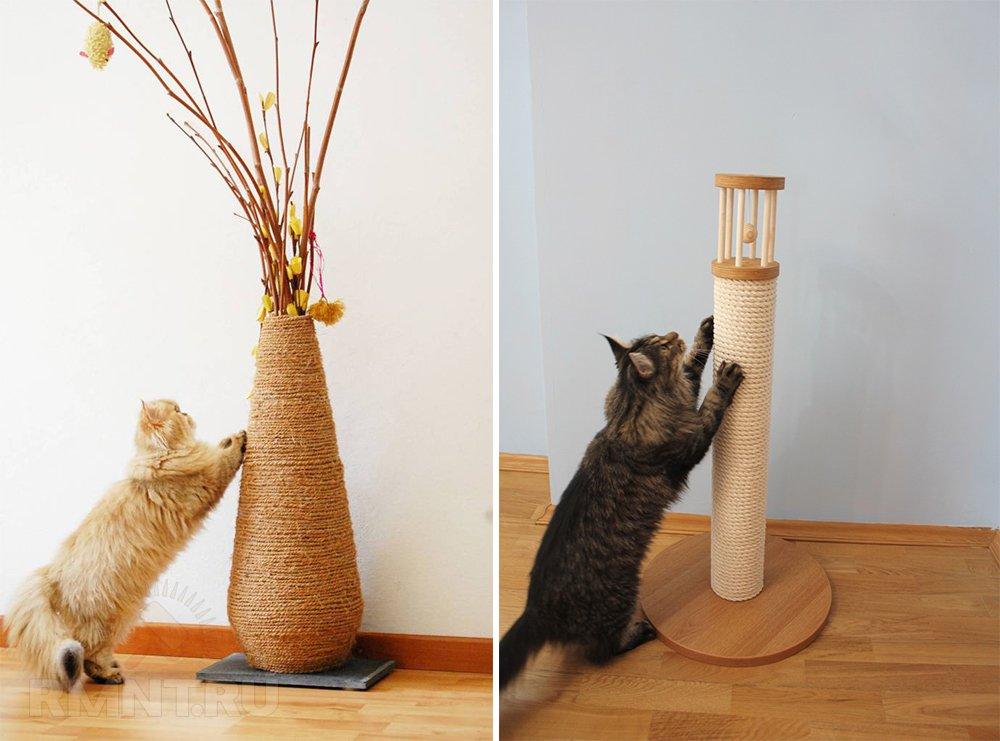 Что сделать для кошек своими руками 13
