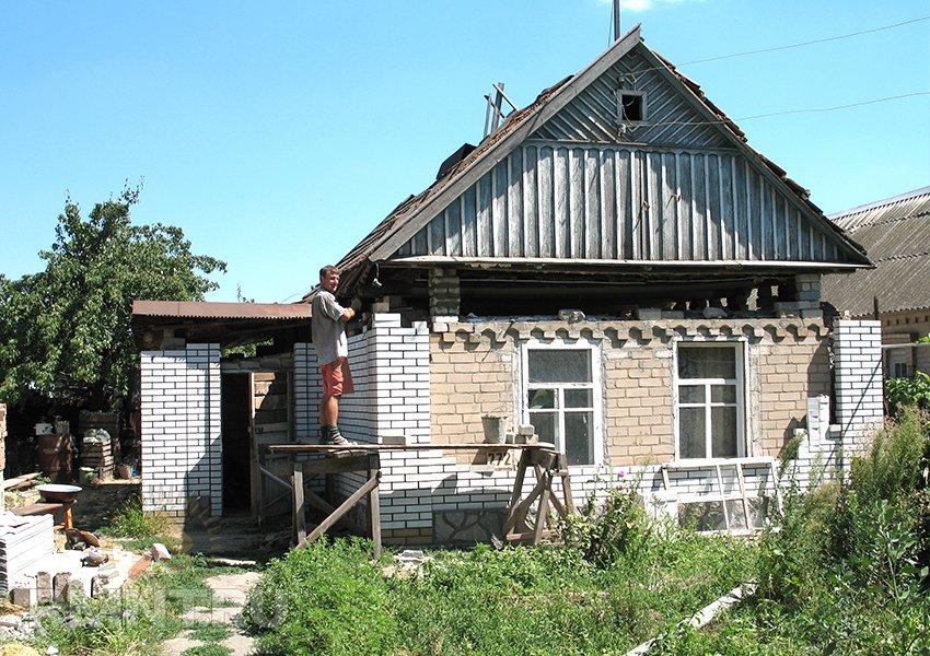 Поднимаем старый дом своими руками 887