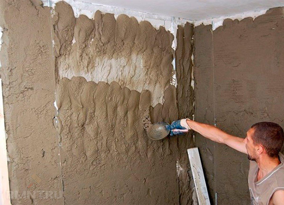 Выравнивание стены штукатуркой своими руками 42