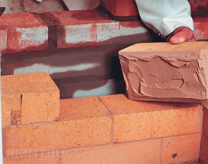 Кладка кирпича: кладочный раствор для печей и каминов
