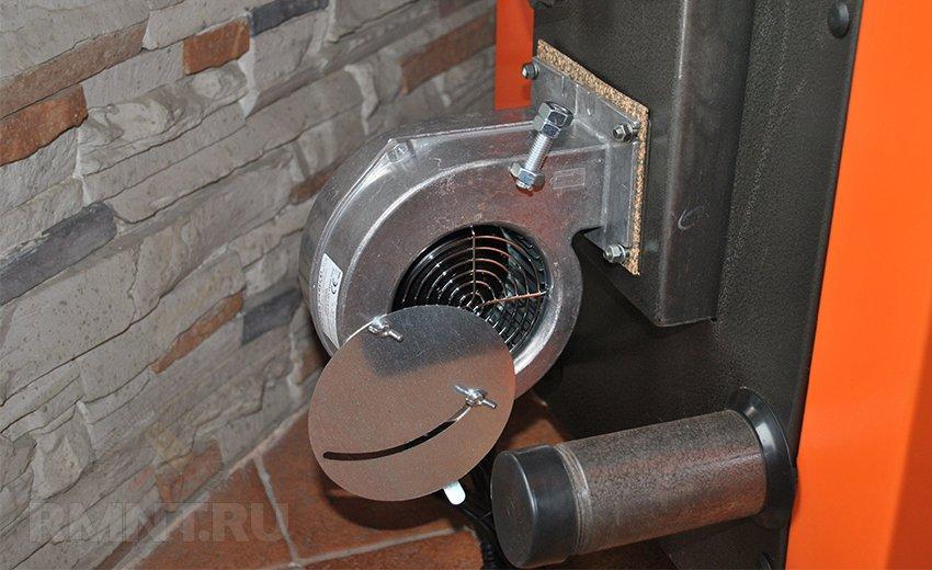 Вентилятор наддува котла