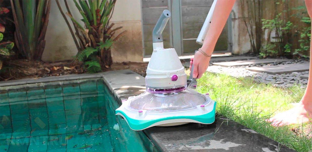 Иммитация водоема из сд дисков