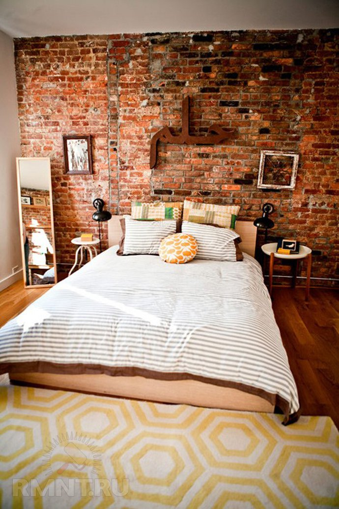 How To Install A Brick Wall Inside The Home  Rustic