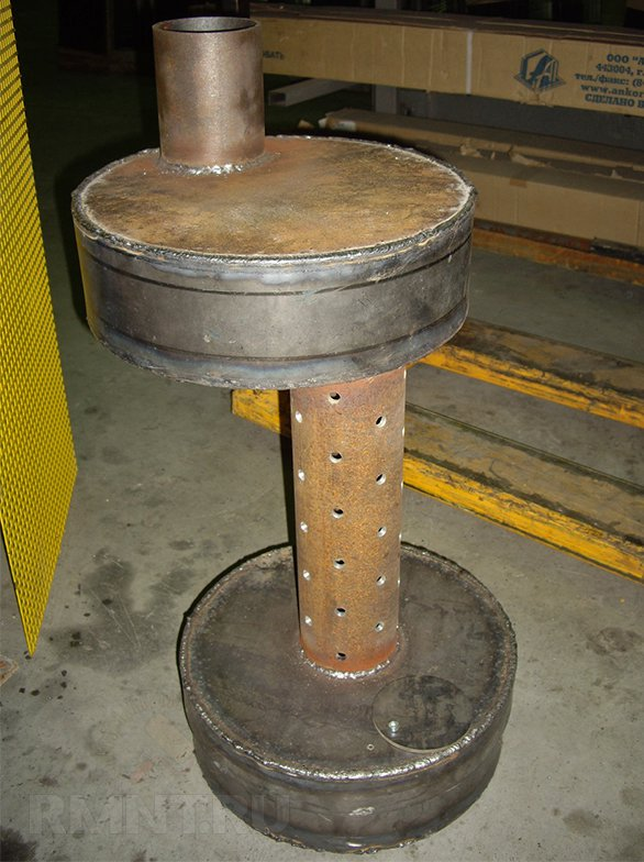 Печка работающая на отработанном масле своими руками 81