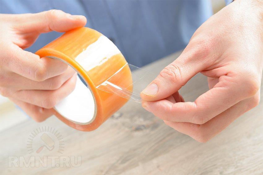 Чем оттереть пластик от скотча