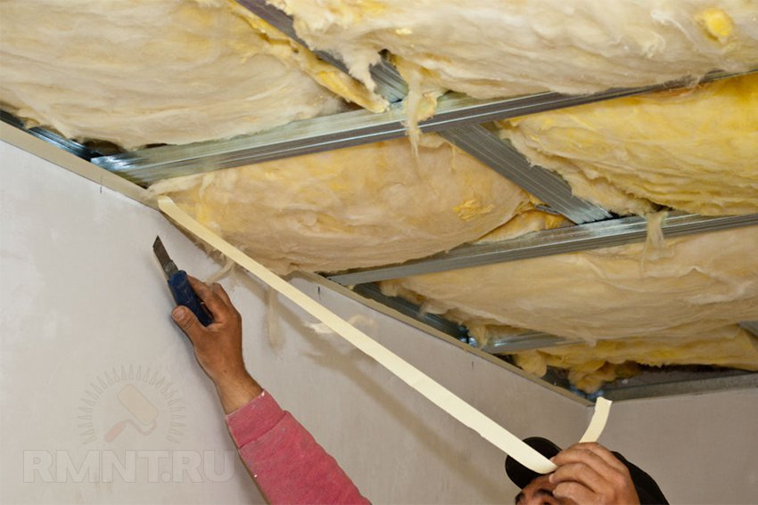 Шумоизоляция стен и потолка в квартире