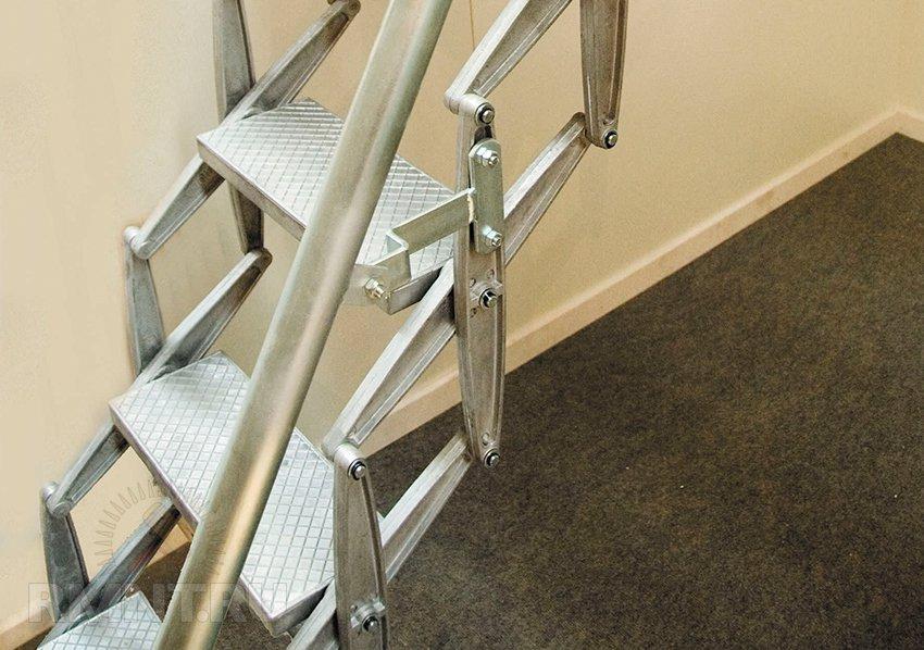 Чердачные лестницы трансформеры своими руками 22