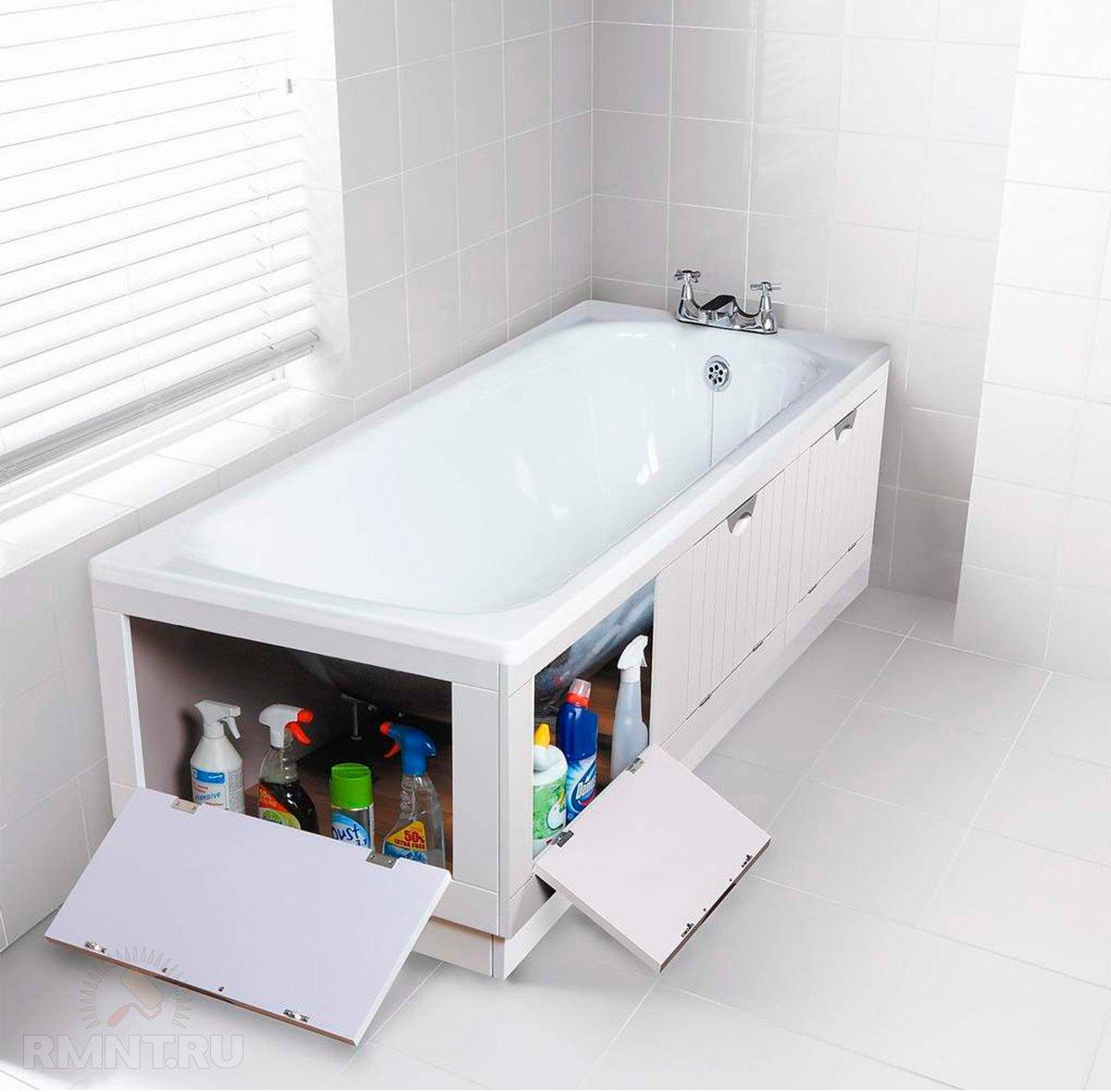 Выбираем экран под ванну