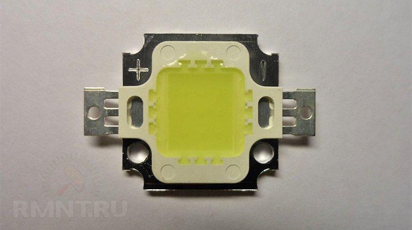 Cверхяркий белый светодиод для прожектора