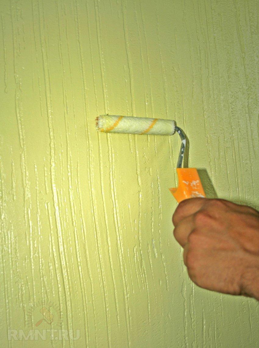 Окраска стены своими руками 14