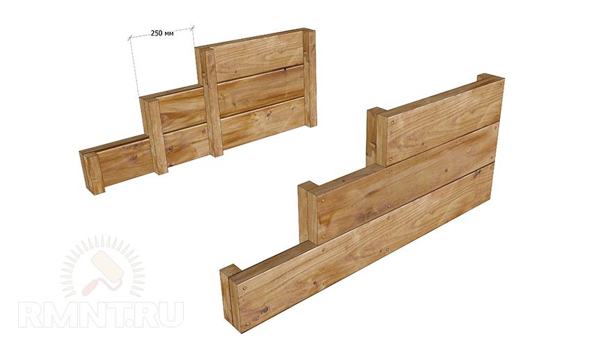 Как сделать лестницу на крыльцо из дерева своими руками 37