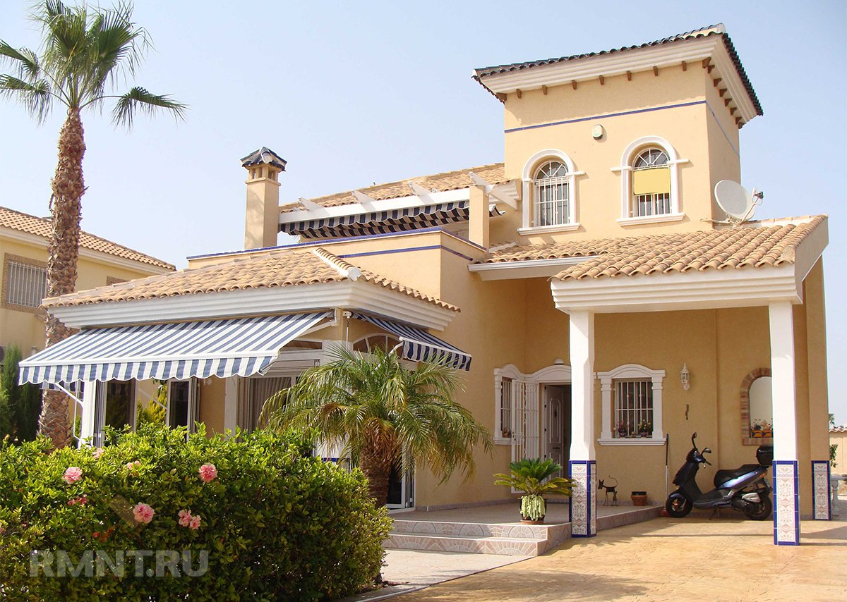 Коттедж в средиземноморском стиле