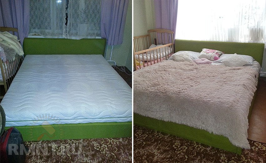 Кровать подиум своими руками чертеж