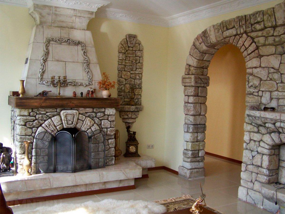 Декорирование стен 70
