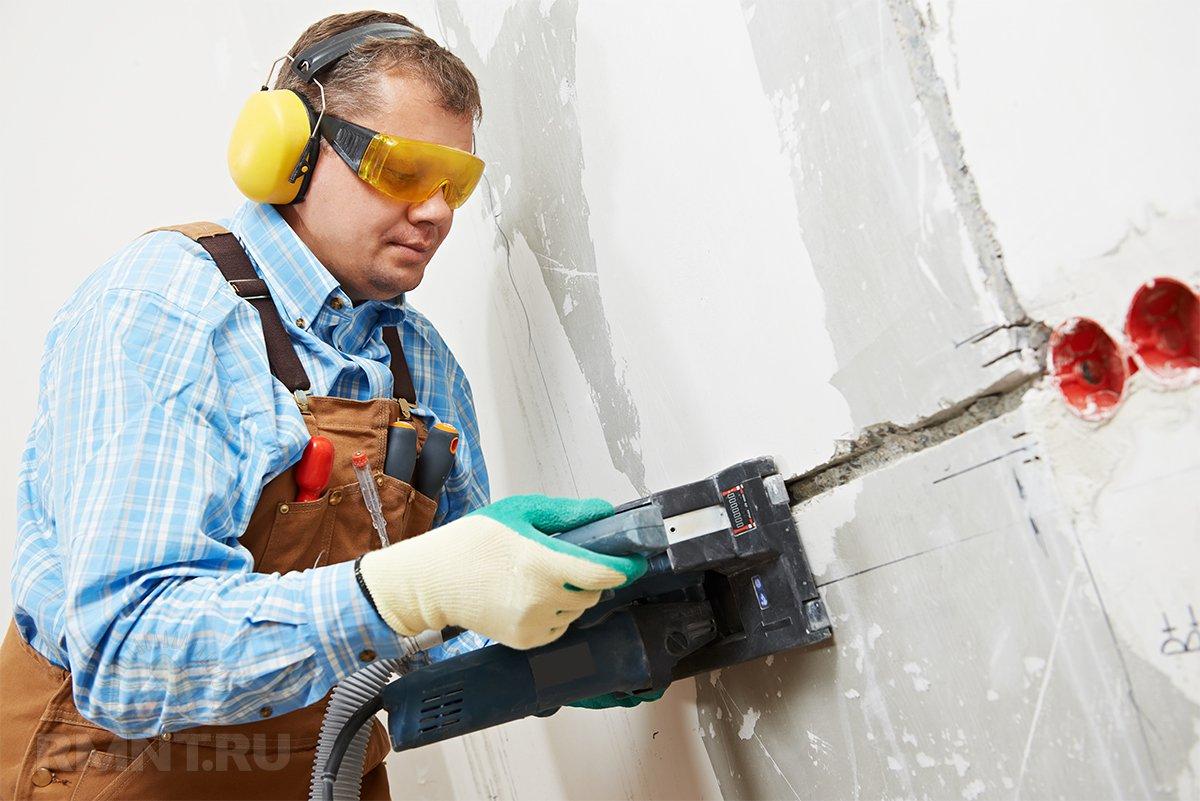 Штроборез по бетону какой лучше