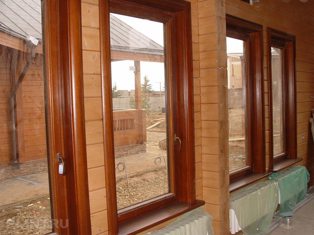 Отделка окон в деревянном доме своими руками фото 547