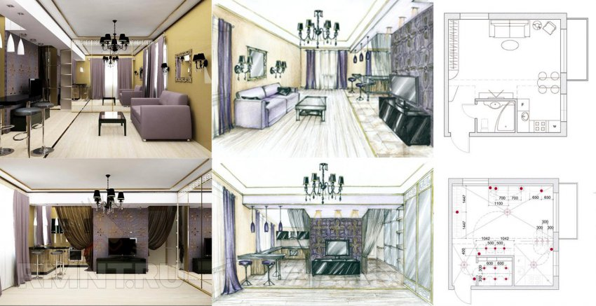 Дизайн интерьера своего дома своими руками
