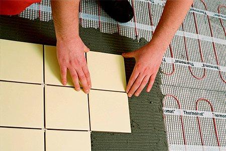Электрический тёплый пол под ламинат на деревянный пол своими руками фото 384