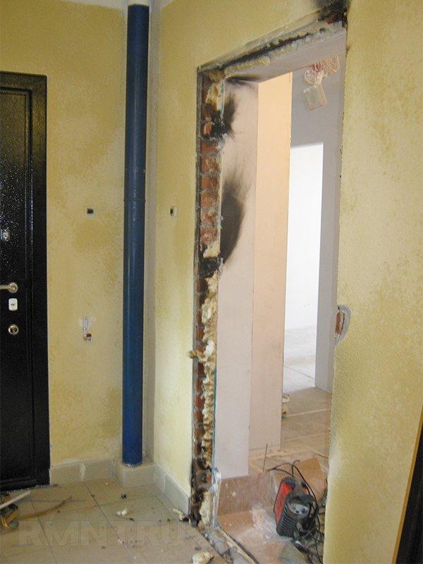Демонтаж дверного проема своими руками 55