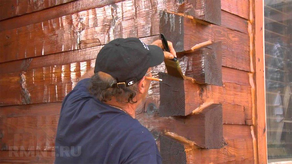 Огнезащитная обработка древесины
