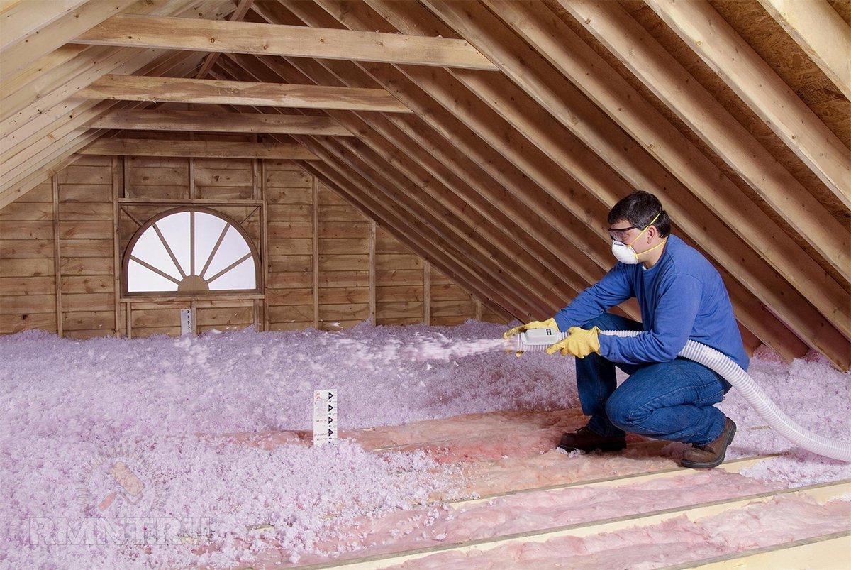 И пароизоляцией гидро крышу с утепляем