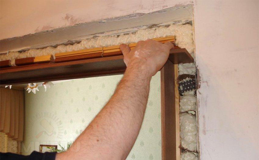Установить дверь межкомнатную с доборами своими руками