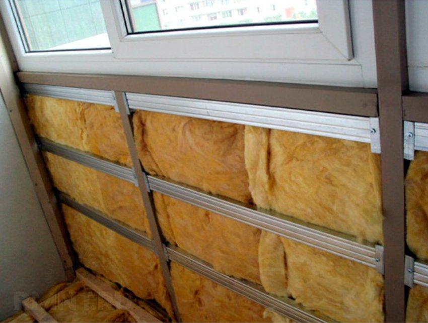 Утепление балкон обшивка своими руками 285