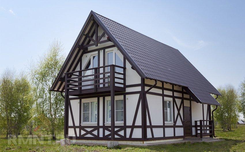 Фахверковый дом: история и особенности строительства