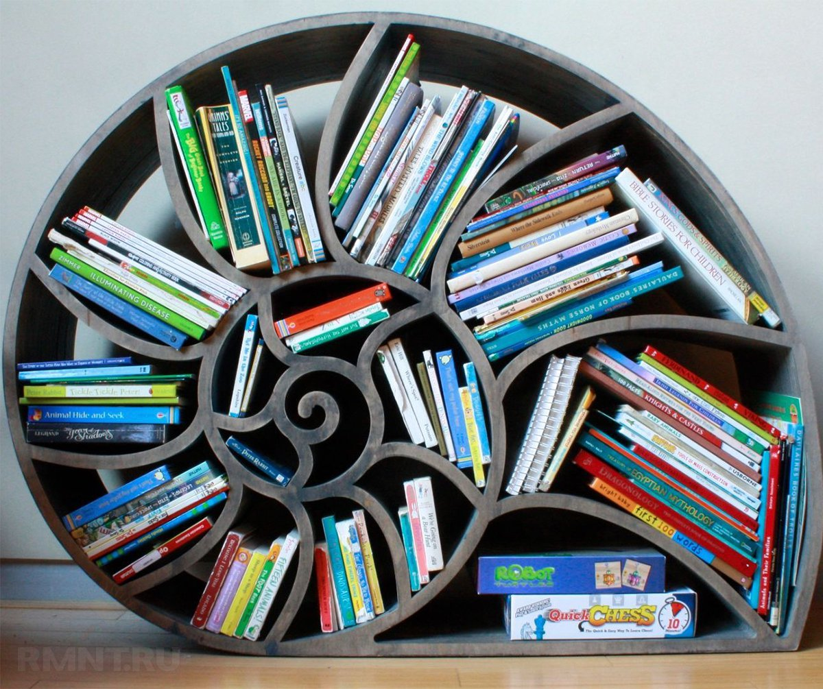 Самые удивительные книжные полки