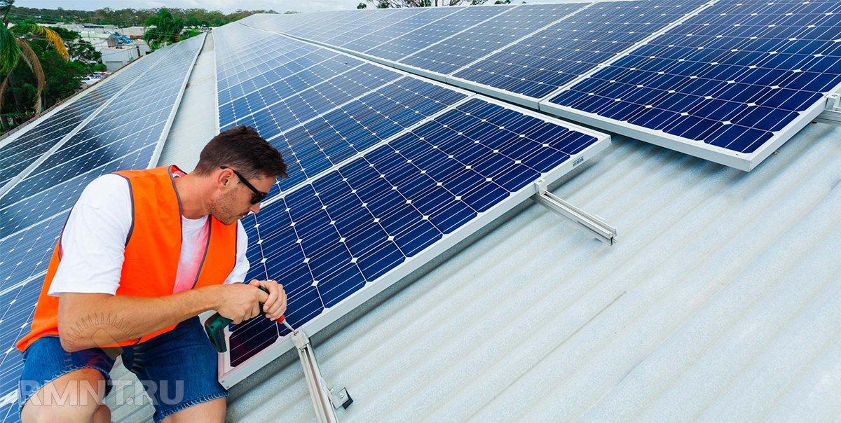 Солнечные панели для дома: выбор и преимущества