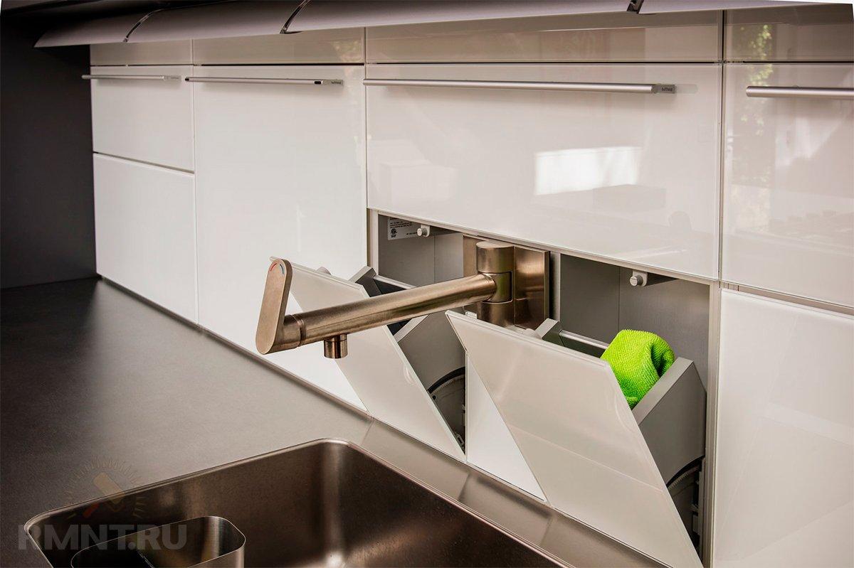 Кухонный фартук, как способ скрыть что угодно