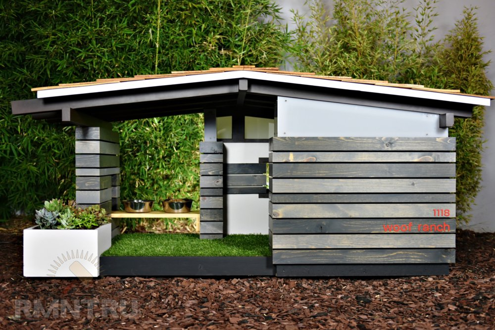 Современный домик для собаки Woof Ranch