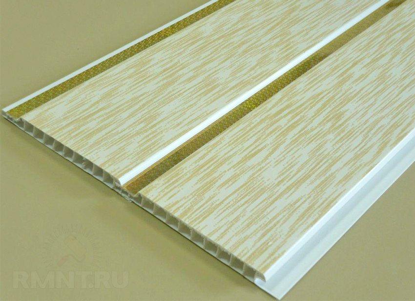 Монтаж ПВХ панелей на потолок и плинтуса: видео-инструкция 16