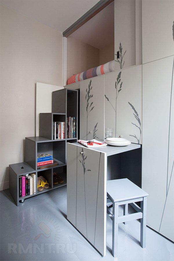 Самые маленькие квартиры: дизайн и функциональность интерьера