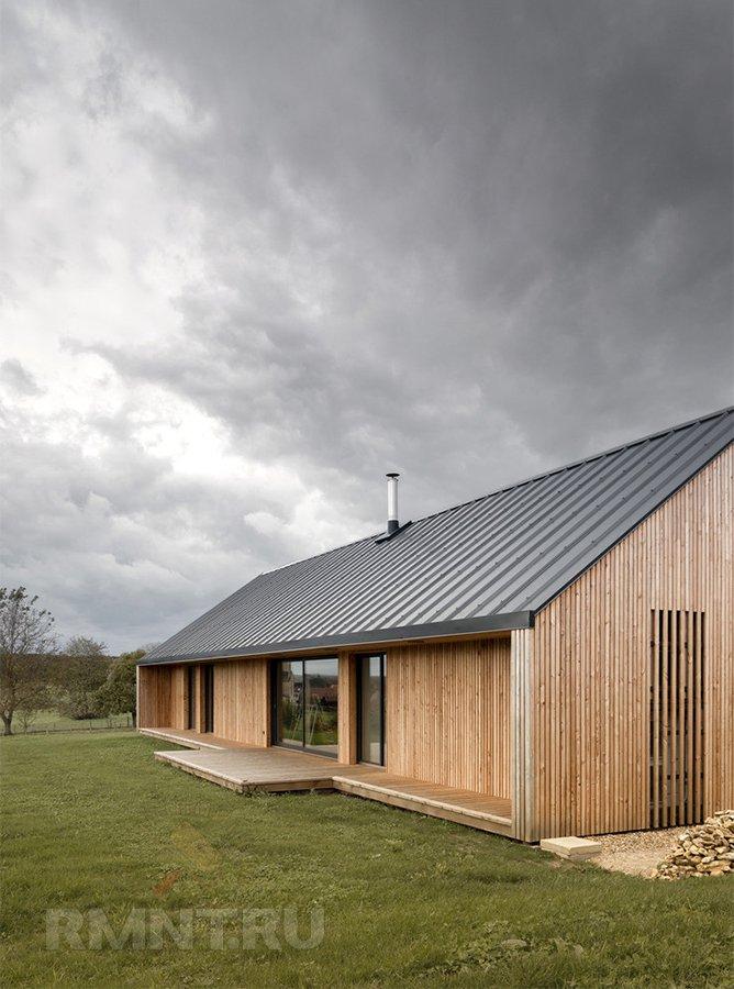Дома в стиле Barn house