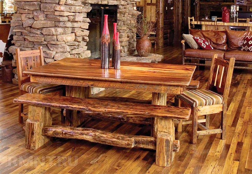 Фото дизайн мебели из дерева