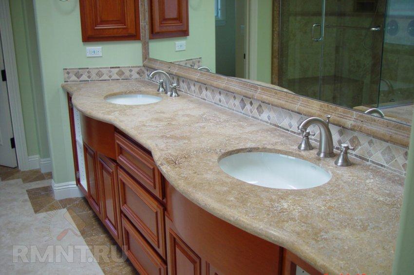Столешницы для ванной комнаты. Советы по выбору и уходу