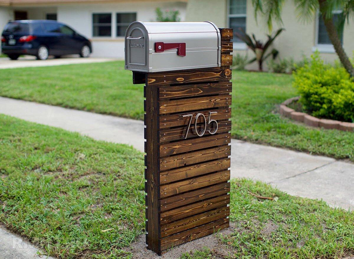 Оригинальные почтовые ящики как украшение дома