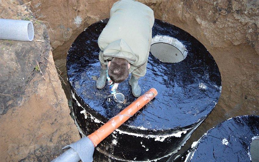 Как сделать бетонные кольца на канализацию 147