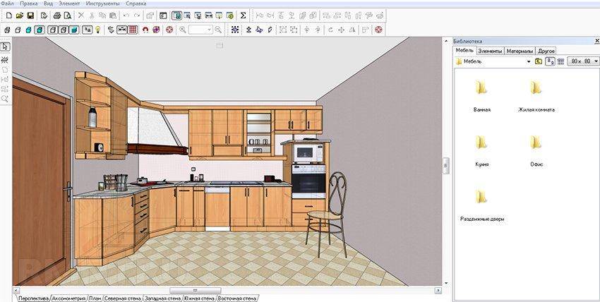Обзор программ для создания и проектирования мебели