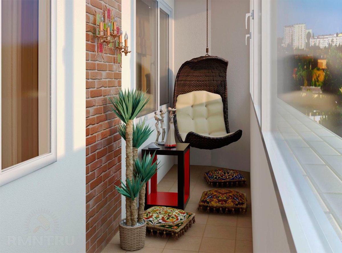 Дизайн балкона 2 кв м