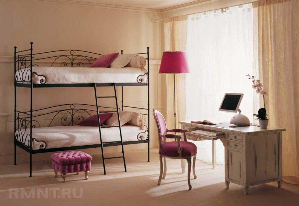 Удачное решение для, как все говорят, детской — двуэтажная кровать
